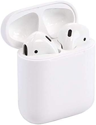 Apple Airpods Wireless Bluetooth In-Ear Headset w/ Charging Case MMEF2AM/A(Renewed)