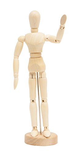 Jack Richeson 710110 8'' Male Manikin by Jack Richeson