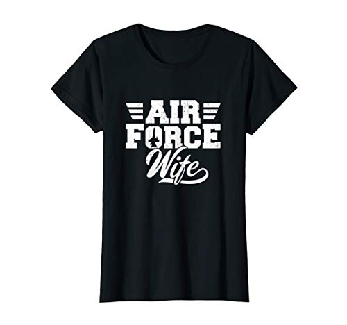 (Womens Air Force Wife - Proud Wife Wifey Air Force Mother's Day)