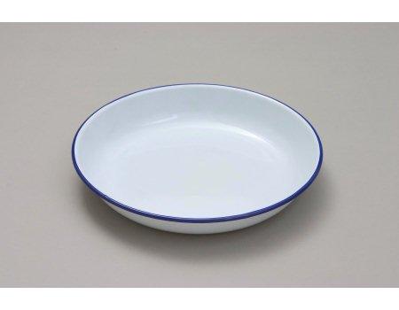 20cm Enamel Rice Pasta Plate - Falcon Enamelware