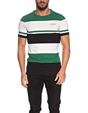 GUESS Crew Neck Small Sleeve Stick Together