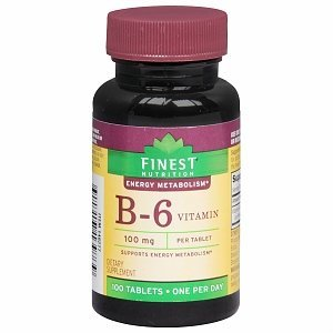 Vitamin B-6 100mg by Finest Nutrition