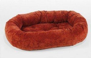 Bowsers Donut Dog Bed, Microvelvet Cherry Bones, X-Large 50