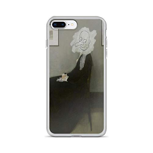 iPhone 7 Plus/iPhone 8 Plus Case Clear Anti-Scratch Whistler's Mother - Mr. Bean, mr Cover Phone Cases for iPhone 7 Plus iPhone 8 -