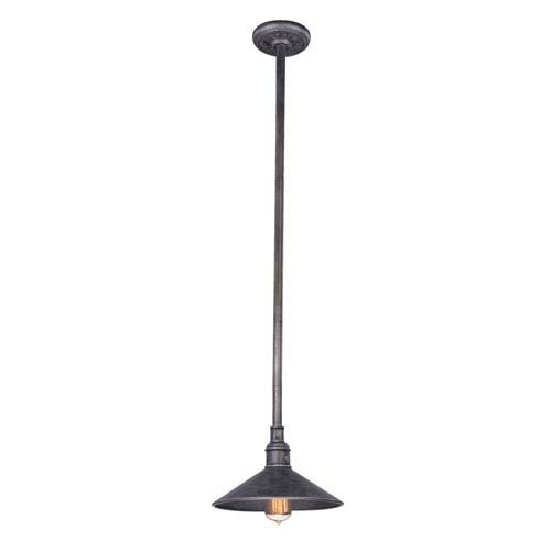 (Mill & Mason Durham Aged Pewter 11-Inch One-Light Outdoor Pendant)