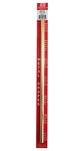 K & S PRECISION METALS 8135 3/8x12 RND BRS Tube (Round Brass Tube)