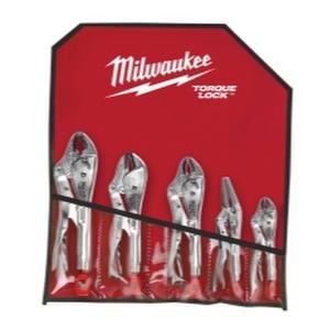 Milwaukee 5-Pc. Torque Lock Locking Pliers Set, Model Number 48-22-3695 by Milwaukee