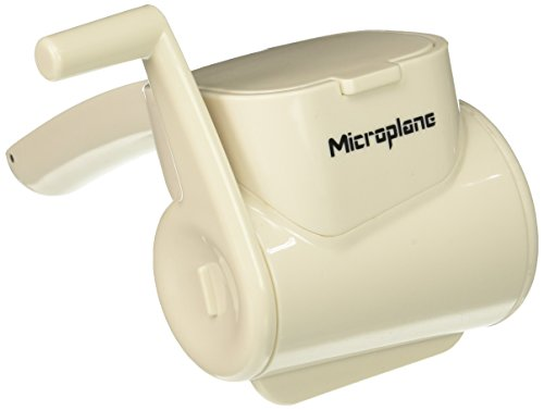 Microplane 39304 Fine Rotary Grater, White