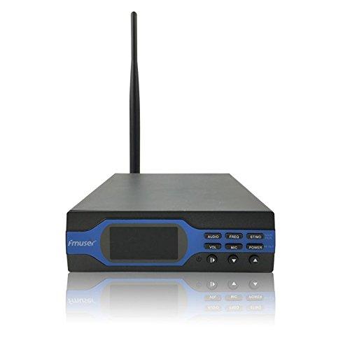 FU-X01BK 1Watts 1W FM Radio Transmitter Mini station and Antenna A KIT by tvfmuser