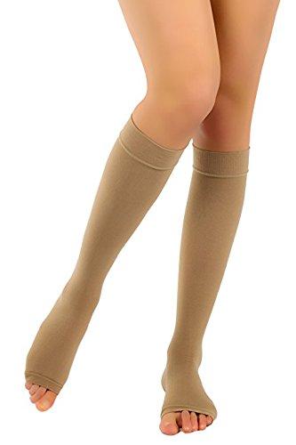 sconto speciale di famoso marchio di stilisti repliche Gambaletto a punta aperta a compressione graduata (20-30 ...