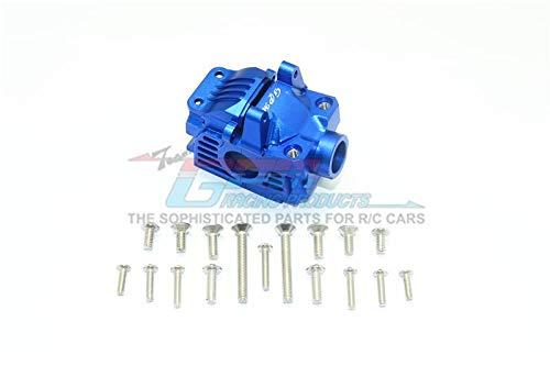 Blue Aluminum Gear - Traxxas Rustler 4X4 VXL (67076-4) Upgrade Parts Aluminum Front Gear Box -1 Set Blue