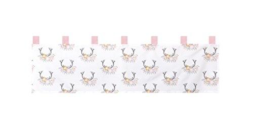 GEENNY Baby Girl Deer Family 13 Piece Nursery Crib Bedding Set