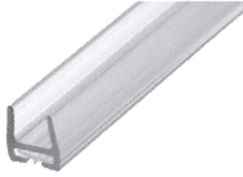 CRL Polycarbonate Bottom Rail With Wipe for 1/2