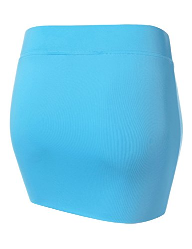 Jupe ajust Nearkin Femme Solid Moderne aqua Nknkw3s qRxPCfwxn