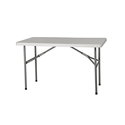 8286ad2488f Amazon.com  4  Plastic Development Group Deluxe Blow Molded Utility Table   Kitchen   Dining