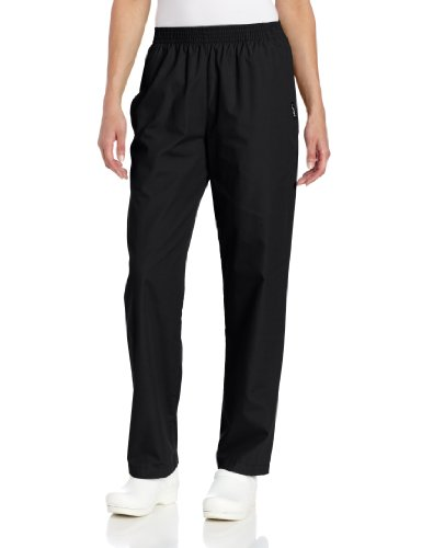 Medical Landau Scrub - Landau Women's Classic Relaxed Scrub Pant, Black, Large