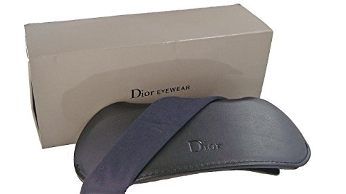 CHRISTIAN DIOR Sunglasses Wallet Case Black 15cm x 6cm - Christian Dior Designer Purse