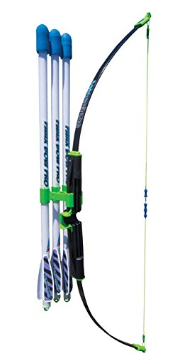 - Marky Sparky Faux Bow Pro – Shoots Over 200 Feet – Bow and Patented Arrow Archery Set
