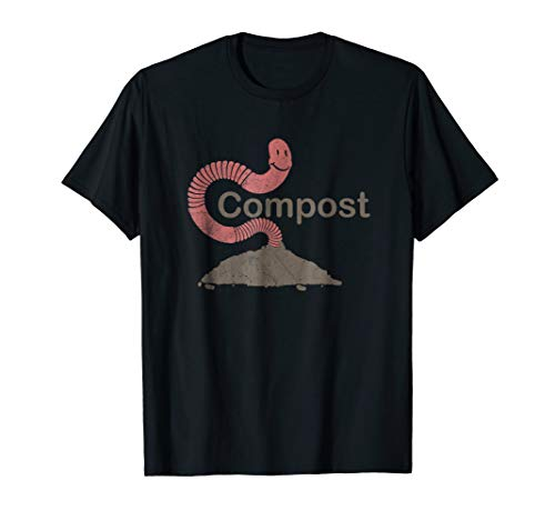 Worm Compost Vermicomposting T-shirt (Best Worms For Vermicomposting)