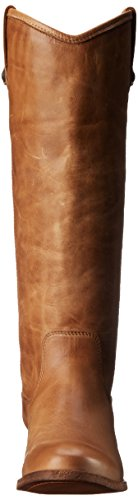 Frye Womens Melissa Button Boot Beige Washed Antique Pull Up Leather-77172