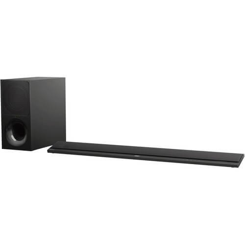 Sony CT800 Powerful Sound bar with 4K HDR, Google Home Support, and Wireless Subwoofer (HT-CT800)