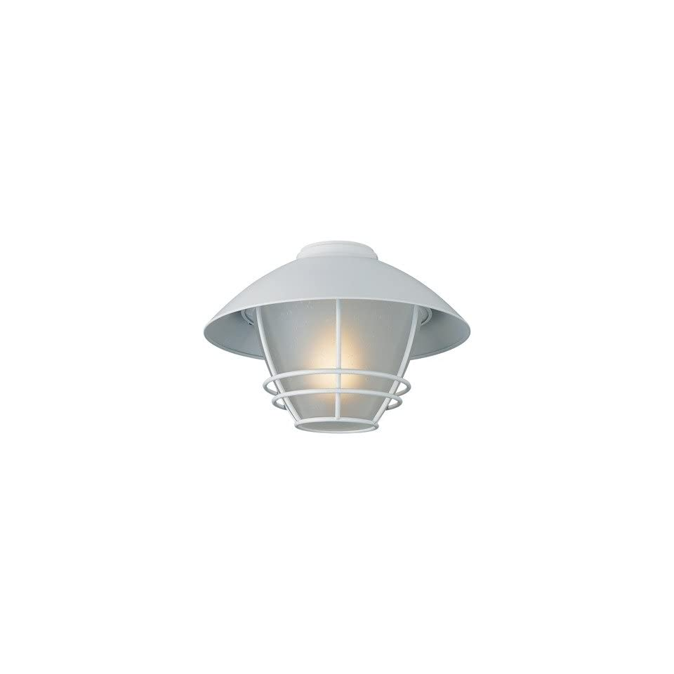 Monte Carlo Fan Company MC151WH L One Light Cape Cod Light Kit in White
