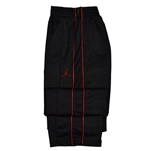 Nike Boy's Youth Air Jordan Jumpman Sweat Pants Black/Red