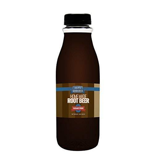 (SUGAR FREE Diet Root Beer Sparkling Water Sodamix Flavor | 16oz (Pint) Bottle)