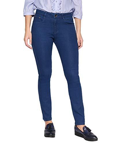 (2719-BLU-18: Mid Wash Classic Skinny Jeans)