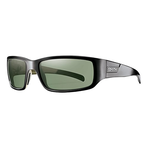Smith Optics Prospect Carbonic Polarized Sunglasses, Black Frame, Polarized Gray Green TLT - Optics Tlt