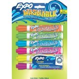 Expo Washable Dry Erase Markers (6 count/2 pack)