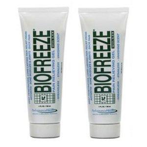 Biofreeze Soulagement Gel Apaisant avec Menthol, 4 onces (Pack de 2)