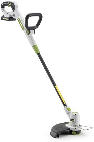 POWERSMITH PGT120 20V Max Battery-Powered String Trimmer – 12 Cutting Diameter and 0.065 Single Line with Auto-Feed, Includes 20V Max 2.0Ah Battery and Charger