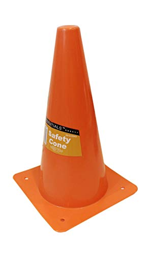 (6 Pack - Orange Safety Cones, For Sports or Traffic, Durable.)