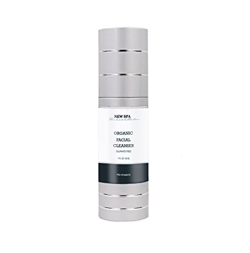 Organic Sulphate Free Facial Cleanser NEW SPA, 1oz