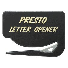 Presto Letter Opener (Package of 5) Made in the - Love Letters Opener Letter