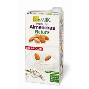 Ecomil Leche de Almendra sin azúcar DieMilk, 1L