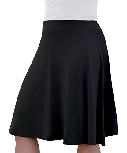 Knee Length Full Skirt - 6