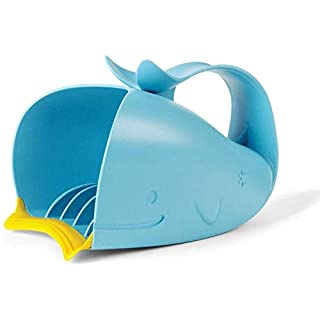 Skip Hop Moby Bath Rinse Cup: Tear-free Waterfall Rinser, Blue
