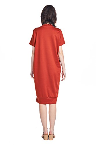 Days Various Dresses Long 82 1 Women's Rust Styles Jersey Comfortable Mid dwWfqE1