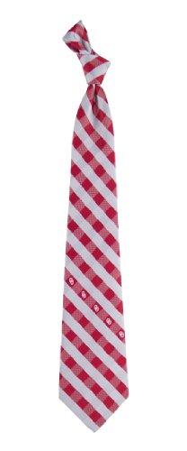 Oklahoma Check Poly Necktie