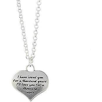 58cfbb538 Amazon.com: Kevin N Anna Sterling Silver Ladybug - Presence Necklace ...