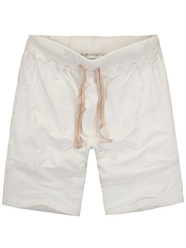 Amy Coulee Men's Casual Short with Pockets (XL, Beige)