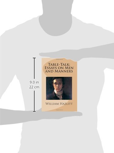 On the want of money william hazlitt essay