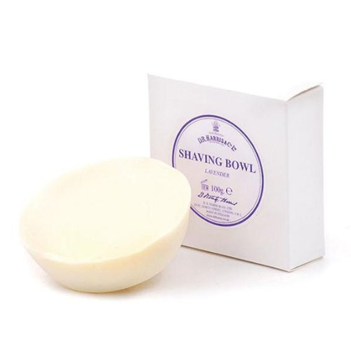 D R Harris Shaving Soap Refill in Lavender (100 g) by DR Harris & Co