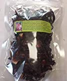 Herbs: Hibiscus ~ Organic Dried Flower Petals ~ 1 oz ~ Ravenz Roost Herbs For Sale