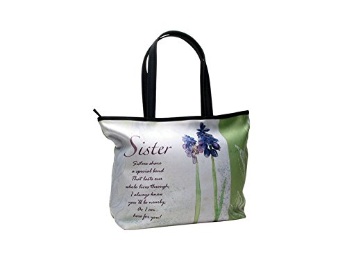 Price comparison product image Sisters Share A Special Bond Floral Tote