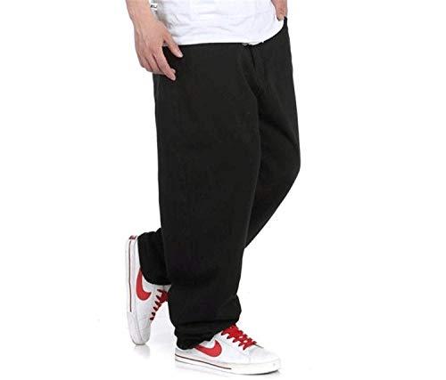 Casual Neri Pantaloni Marca Uomo Moda Colour Vintage Denim Di Jeans Larghi Mode Da UrUq1xn0