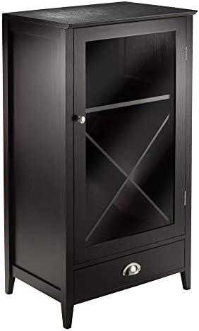 Winsome Wood X-Panel Modular Bordeaux Wine Cabinet