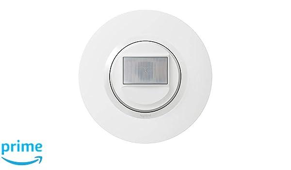 Legrand leg95054 interaut 2 F BL CPT dooxie detector de movimiento sin neutro blanco completo Deco: Amazon.es: Bricolaje y herramientas